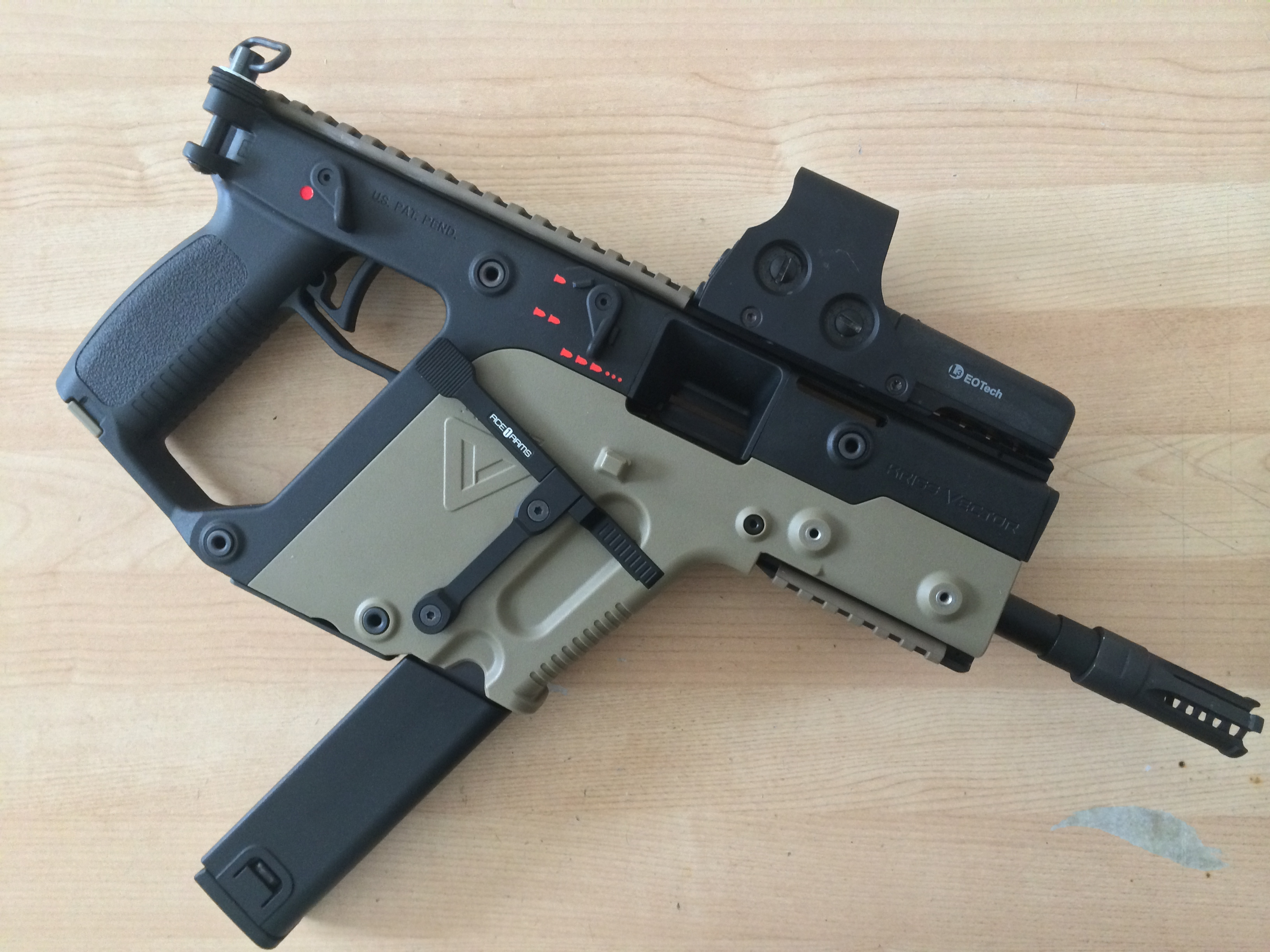 My 2 tone KWA Kriss Vector